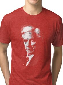 Bertrand Russel drawing Tri-blend T-Shirt