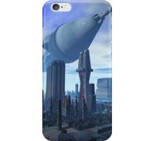 Giant Spacecraft Arival iPhone Case/Skin