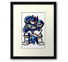 Transformers Soundwave Framed Print