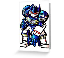 Transformers Soundwave Greeting Card