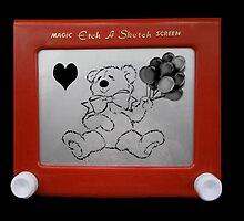 TEDDY BEARS ETCH A SKETCH BIRTHDAY PRESENT by ✿✿ Bonita ✿✿ ђєℓℓσ