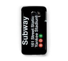 Yankees Subway Sign Samsung Galaxy Case/Skin