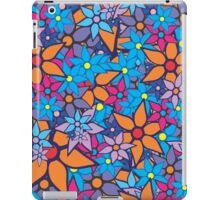 Retro Trendy Floral Pattern iPad Case/Skin