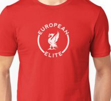 European Elite - Liverpool FC - White Unisex T-Shirt