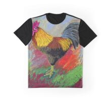 Rooster-3 Graphic T-Shirt