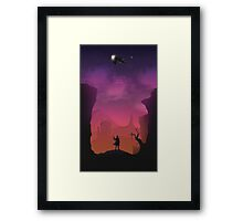 You Can't Take The Sky From Me Firefly Framed Print