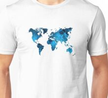 The World in Blue Unisex T-Shirt