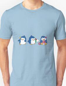 penguin trio Unisex T-Shirt