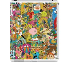 Collection of cartoons  iPad Case/Skin