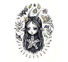 Autumn Imp Photographic Print