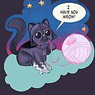 Darth Kitty Bubbles by Shonuff  Studio