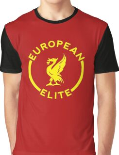 European Elite - Liverpool FC - Yellow Graphic T-Shirt