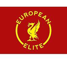 European Elite - Liverpool FC - Yellow Photographic Print