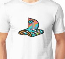 Playstation Retro Logo Unisex T-Shirt