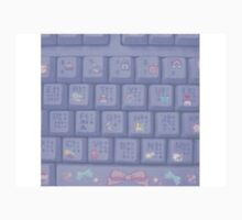 Kawii keyboard! One Piece - Short Sleeve