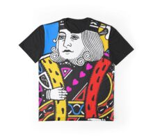 KING OF HEARTS-COLOURS Graphic T-Shirt