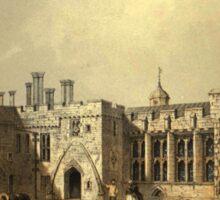 Berkeley Castle – The Baronial Halls (Hall, Samuel Carter) Sticker