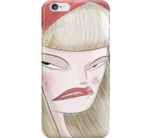 Angry Red. iPhone Case/Skin