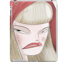 Angry Red. iPad Case/Skin