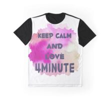 LOVE 4Minute Graphic T-Shirt