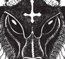 Devil Goat Sticker