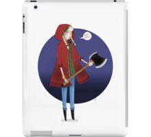 Red Riding Hoodie. iPad Case/Skin