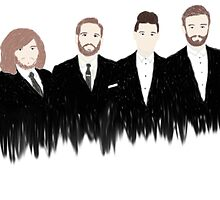 Bastille in suits by IngeridD