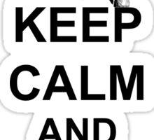 Trailer Park Boys - Keep Calm And Frig Off Sticker