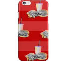 The Fast Food Life iPhone Case/Skin