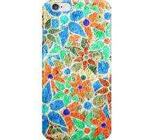 Trendy Floral Pattern Vintage iPhone Case/Skin