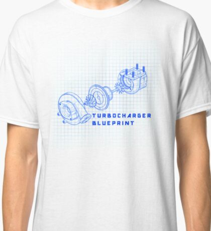 TURBO BLUEPRINT Classic T-Shirt
