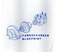 TURBO BLUEPRINT Poster