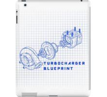 TURBO BLUEPRINT iPad Case/Skin