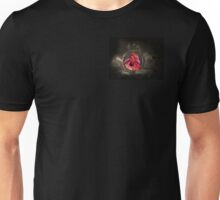 Gothic Male Red Dragon Unisex T-Shirt
