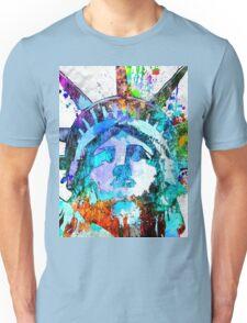 Statue of Liberty Grunge Unisex T-Shirt