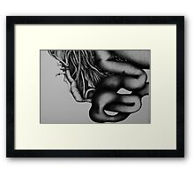 Ingestation-3 Framed Print