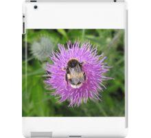 Bumble Bee On Thistle iPad Case/Skin