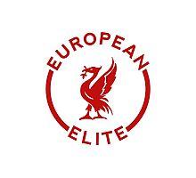 European Elite - Liverpool FC - Red Photographic Print