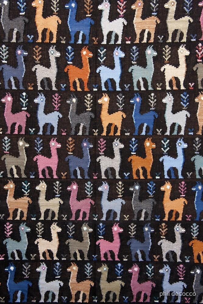 Llama Land by phil decocco