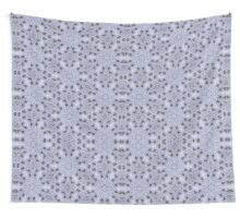 White Lace Pattern Wall Tapestry