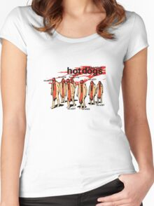 Reservoir Hotdogs Women's Fitted Scoop T-Shirt