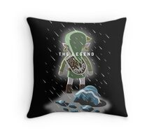 The Legend of Broken Pots Throw Pillow