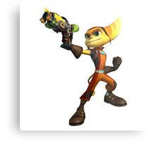 Ratchet and Clank 3 Metal Print