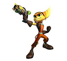 Ratchet and Clank 3 Photographic Print