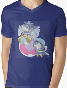Yokai Watch: Frostina and Blizzaria Mens V-Neck T-Shirt