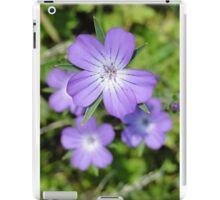 Corncockle Cluster iPad Case/Skin