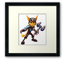 Ratchet and Clank 1 Framed Print