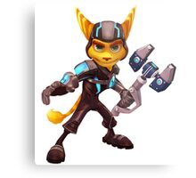 Ratchet and Clank 1 Metal Print