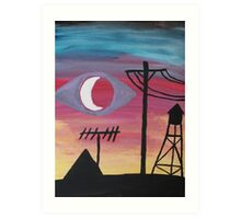 Welcome To Night Vale Art Print