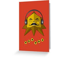 Hot Goron Beats Greeting Card